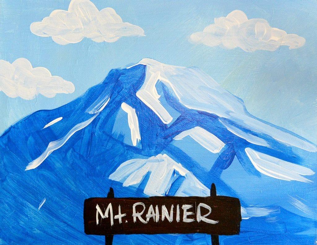 Kids Mt Rainier