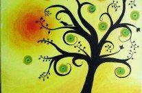 Yellow Funky Tree