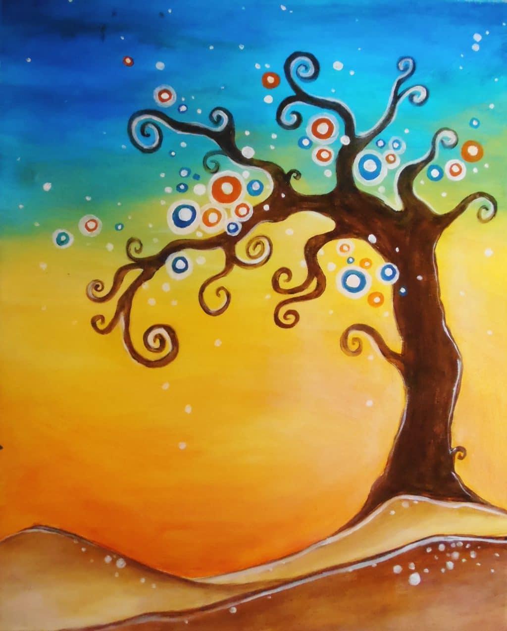 VIRTUAL: Funky Tree (Kit Available)