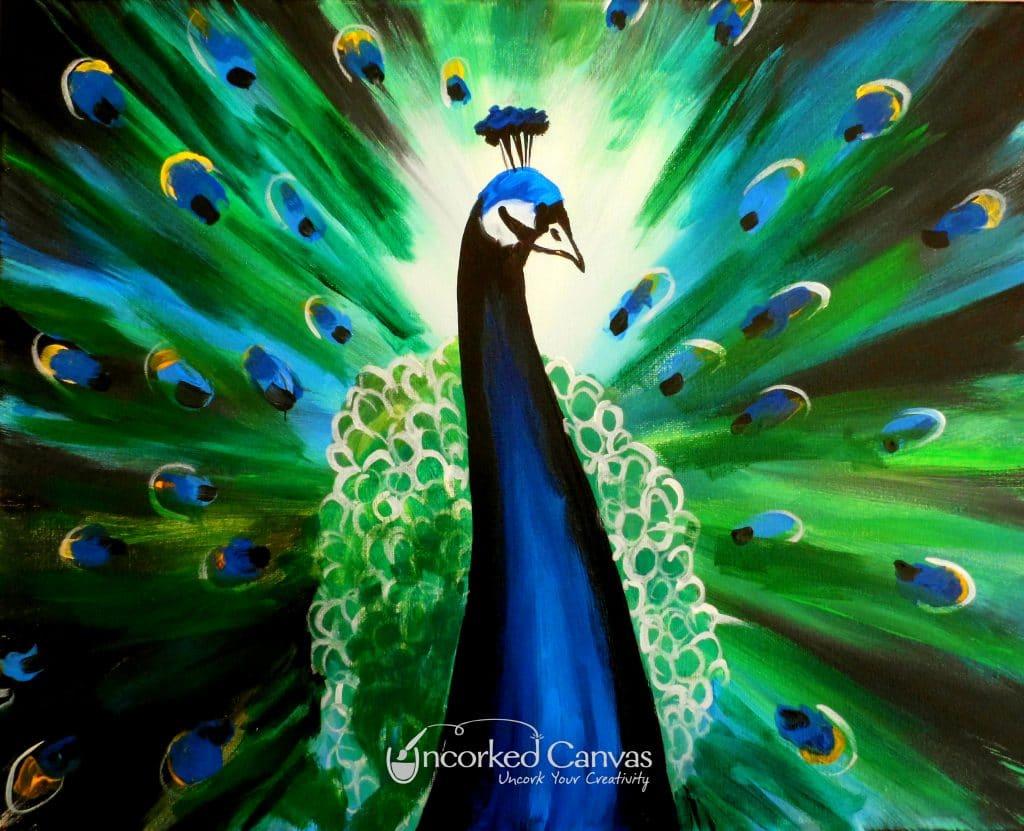 Emerald Peacock