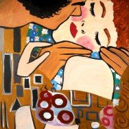 The Kiss (by Klimpt)