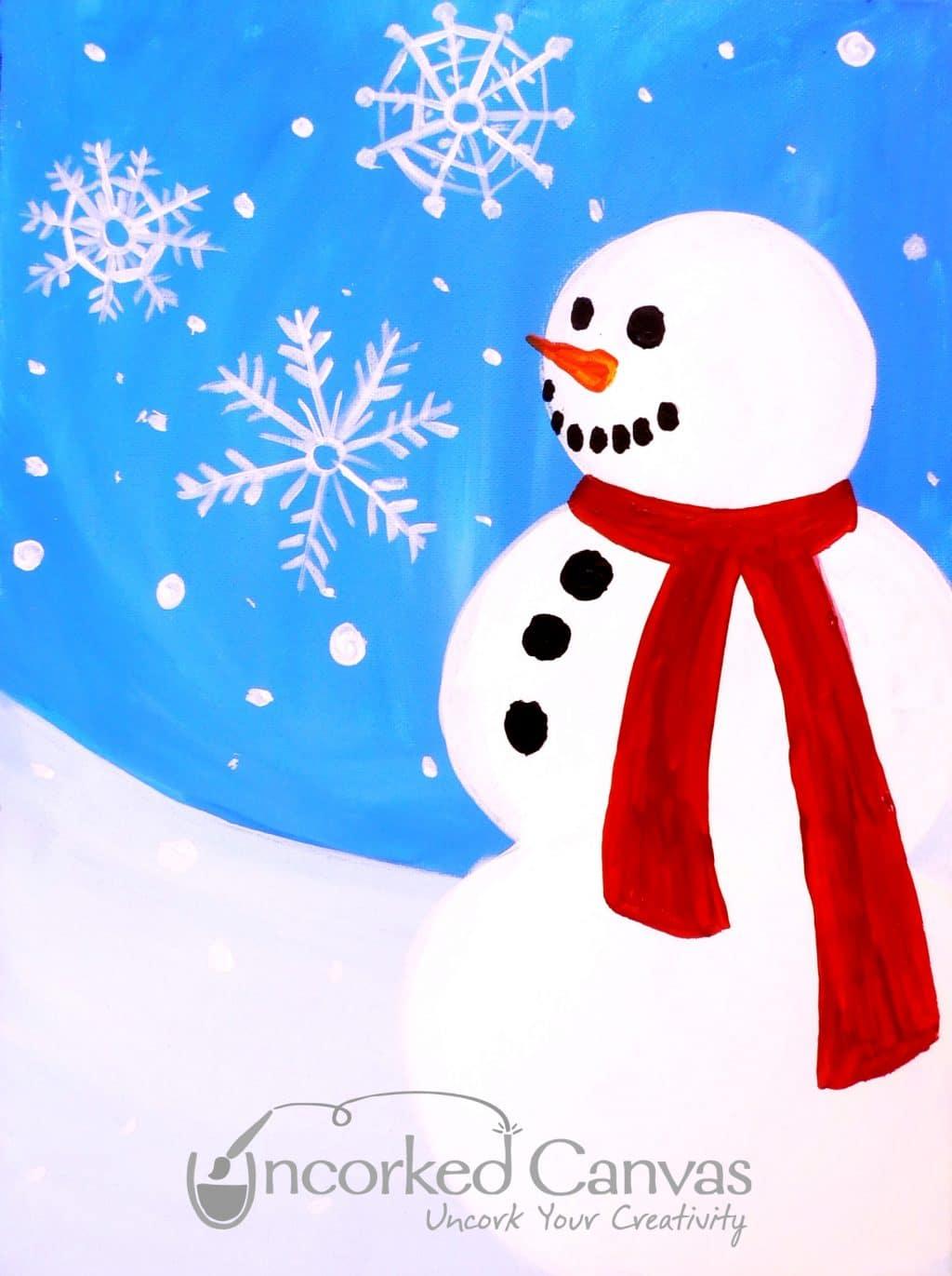 Kids Snowman