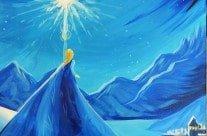 Princess Paint Frozen