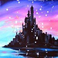 Tangled Princess Castle