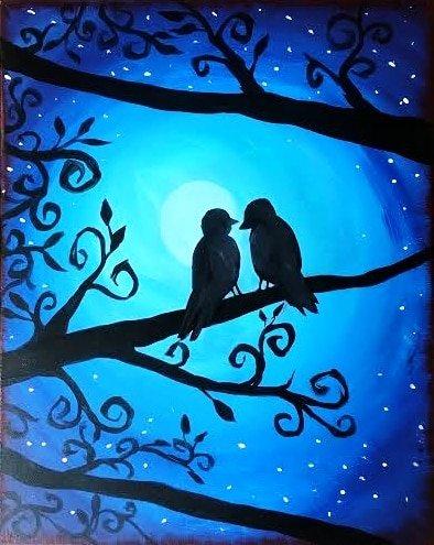 Evening Duet Birds