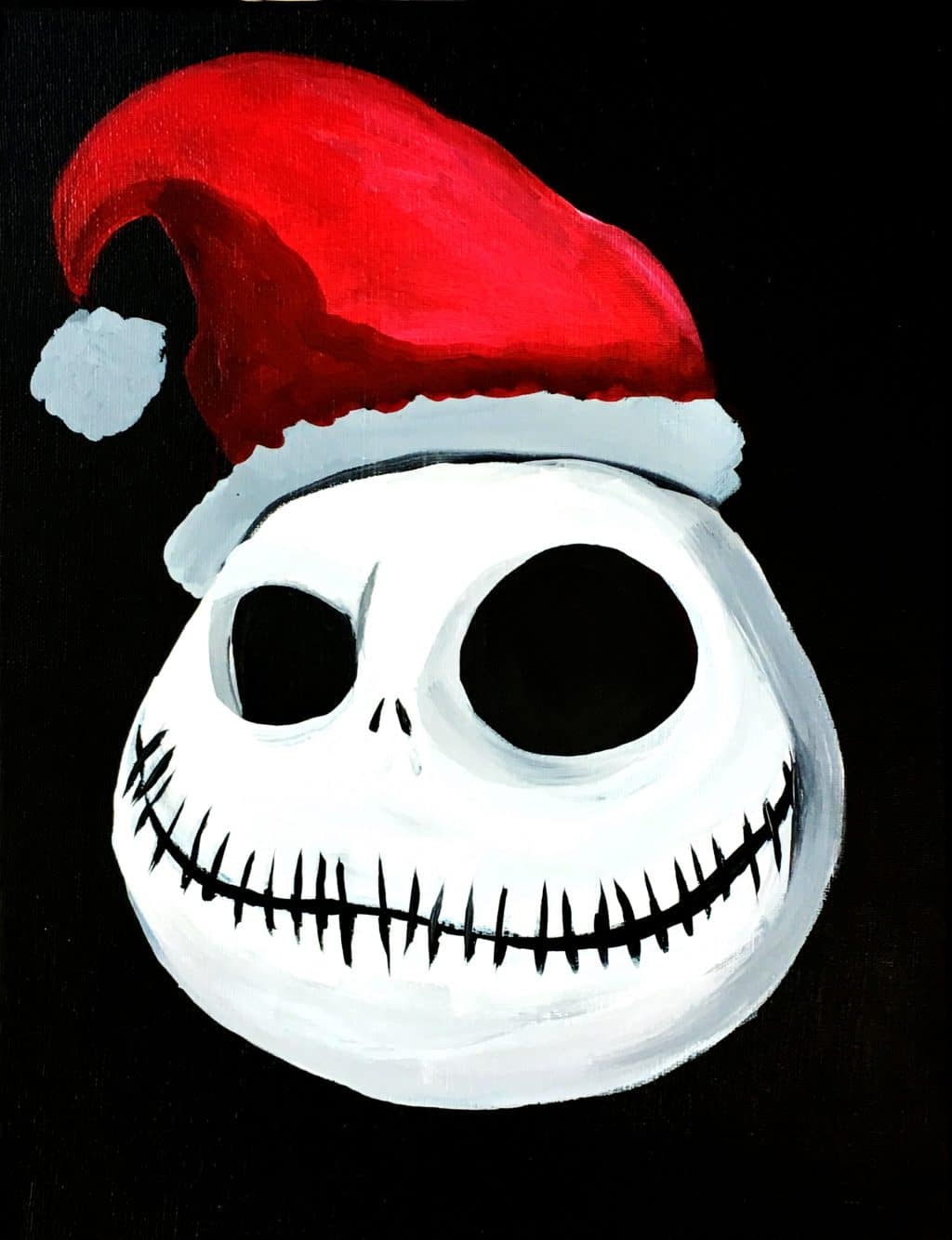 Jack Skellington Santa