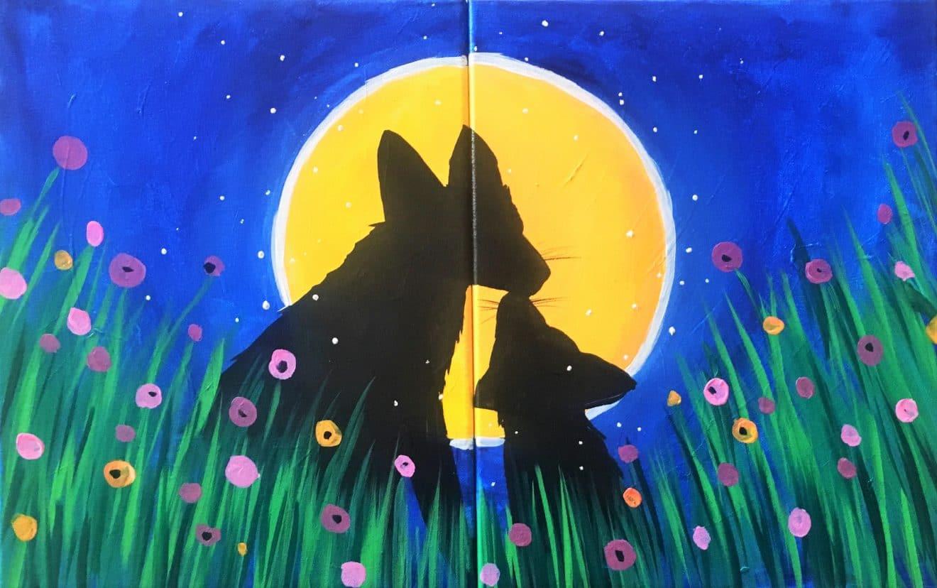 Mommy & Me Fox Kisses