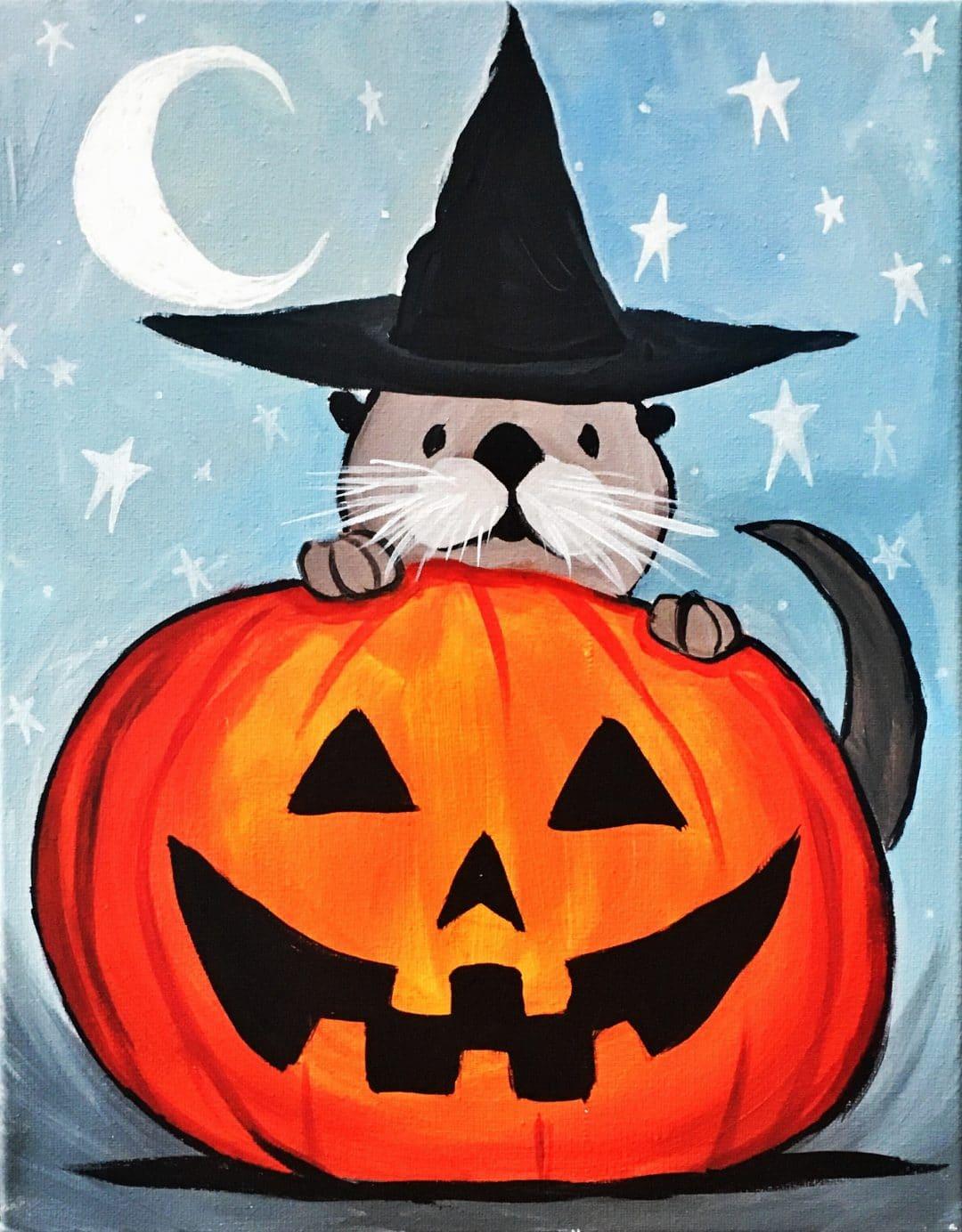 Halloween Otter