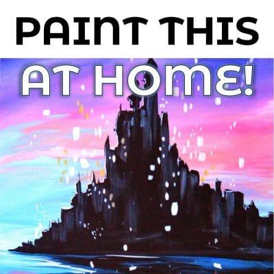 Princess Paint Castle Picture